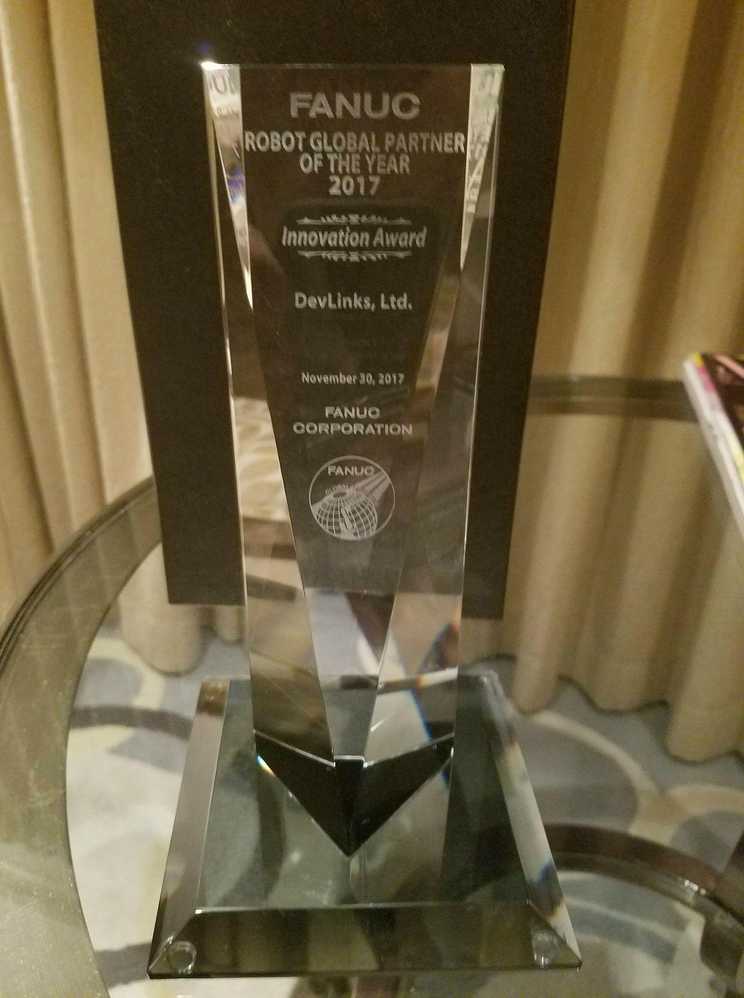 DevLinks 2017 Global Partner of the Year Award
